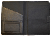 Black Leather Paper Journal Cover