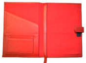 Red Leather Full-Grain Paper Journal Covers